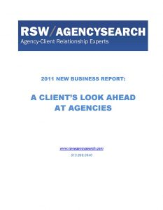 A Look Ahead at Agencies