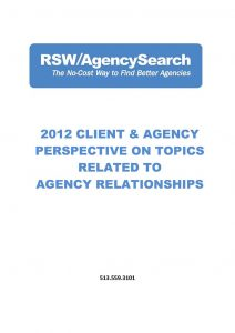 Agency Relationships Report