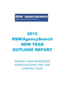 2012 New Year Outlook Report