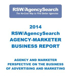 2014 Agency-Marketer Business Report
