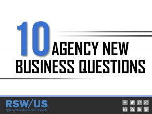 10 Agency New Business Questions