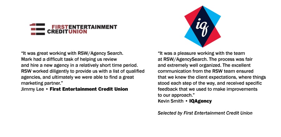 First Entertainment Credit Union Testimonial
