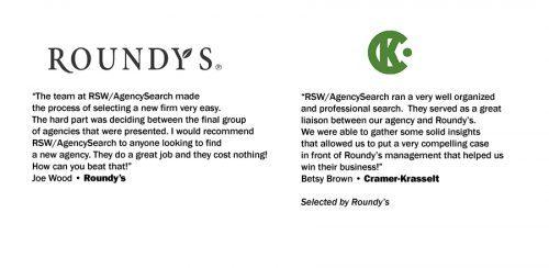 Roundy's Testimonial